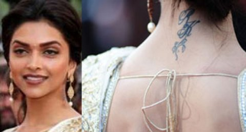 Celebrities sporting Tattoos