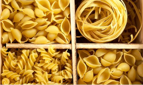 Pasta shapes to suit your Pasta Sauce